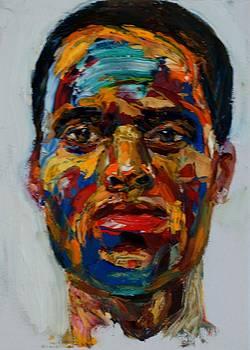 Head study by Edward Ofosu