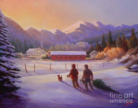 Heading Home by Charles Fennen