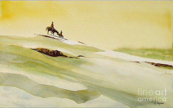 Heading Home From the Hunt by Charles Fennen