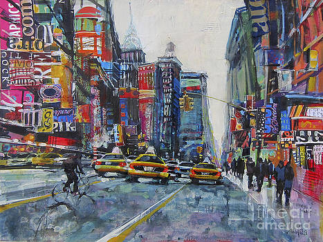Heading Uptown NYC by Patti Mollica