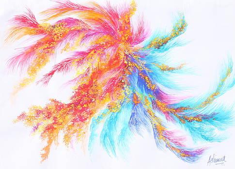 Healing Feather by Ashima Kaushik
