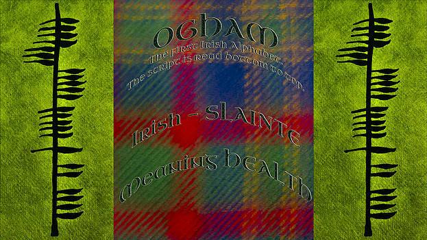 LeeAnn McLaneGoetz McLaneGoetzStudioLLCcom - Health -OGHAM Ancient Irish Alphabet Health