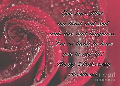 JH Designs - Heart and Soul Anniversary Rose