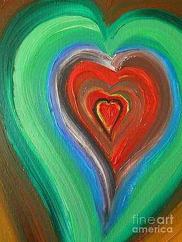 Heart Art by Rhonda Lee