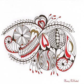 Heart Expression by Nancy TeWinkel Lauren