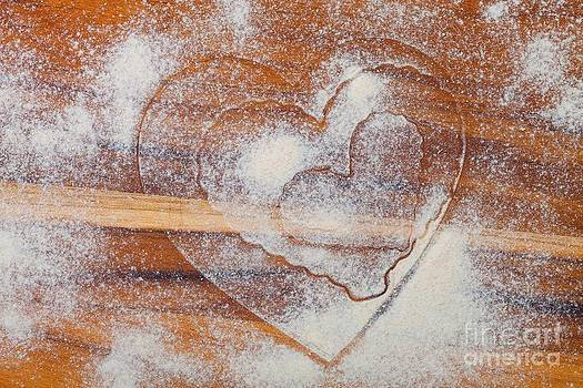 Heart Imprints by Diane Macdonald