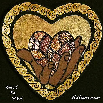 Heart In Hand by Dorinda K Skains