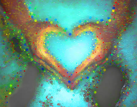 Heart in Hand Love Bubble Baths by Robin Lewis