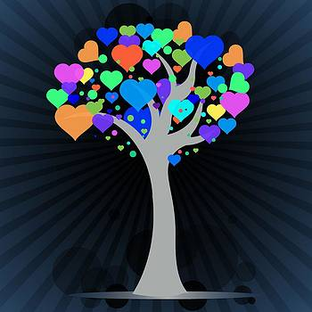 Heart Leaf Tree by Anne Marie Baugh