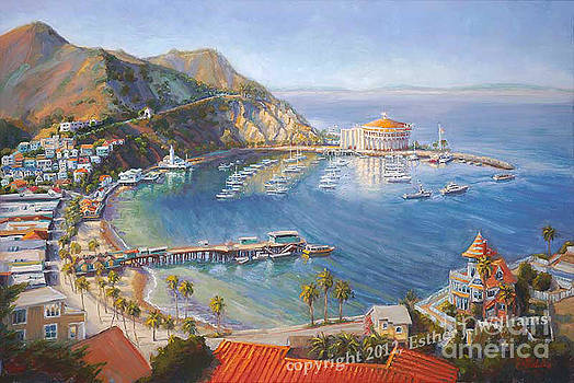 Heart of Avalon Giclee on Canvas by E Williams