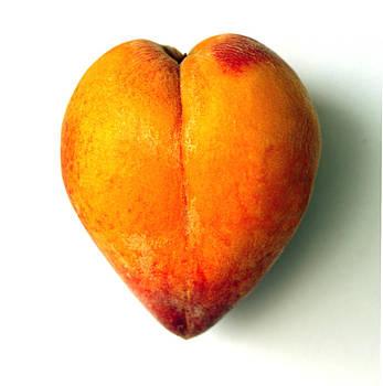 Heart Peach by Mark Langford