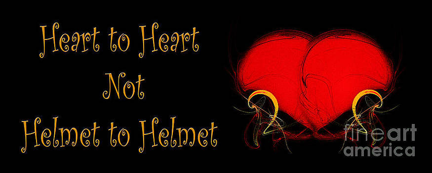 Andee Design - Heart to Heart Not Helmet to Helmet