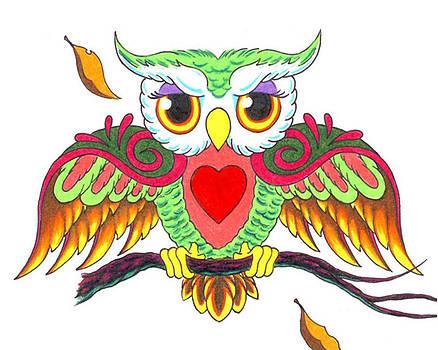 Heartland Owl by Rik Hayes