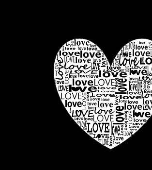 Ioanna Papanikolaou - heart and love in black