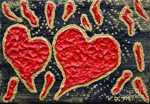 Vicki Maheu - Hearts Aflame