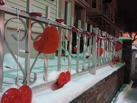 Anastasia Konn - Hearts on a fence