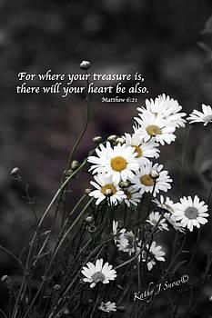 Hearts Treasure by Kathy J Snow