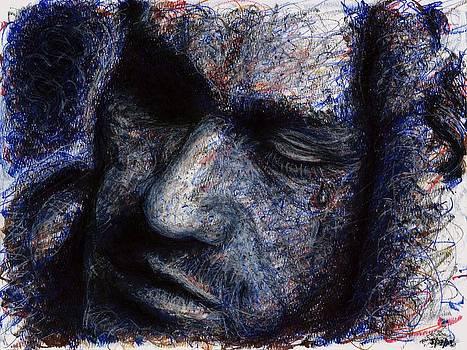 Rachel Scott - Heath Ledger - Blue