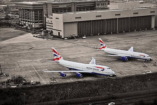 Heathrow Airport London by Adrian Pava