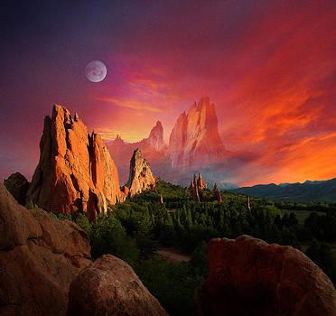 Heavenly Garden by John Hoffman
