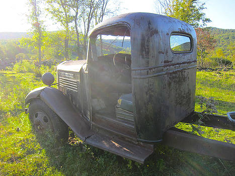 Heavenly Old GM Truck by Kathryn Barry