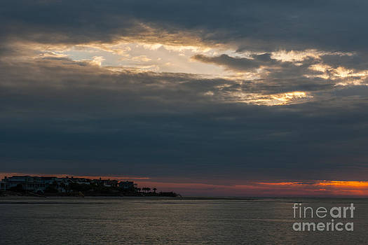 Dale Powell - Stormy Sunrise over Breach Inlet