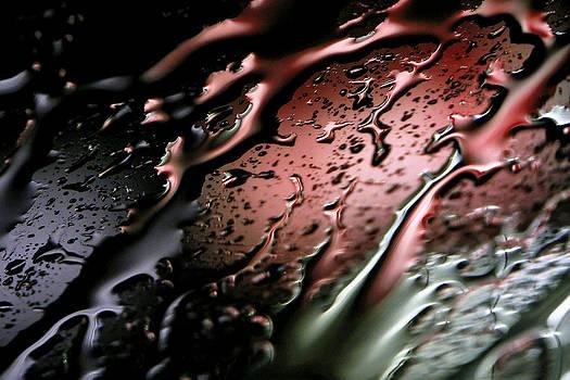 Heavy Rain on Windshield by Jay Evers