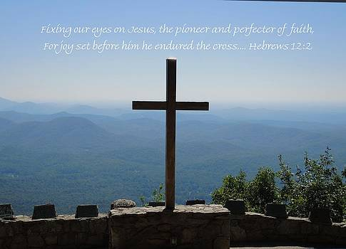 Hebrews 12-2 by Judy  Waller