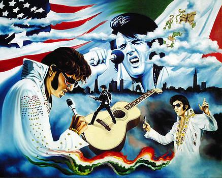 Hector Ortiz mexican Elvis Presley tribute by Hector Monroy