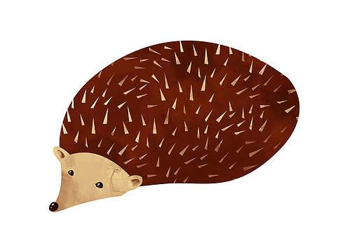 Hedgehog by Randoms Print