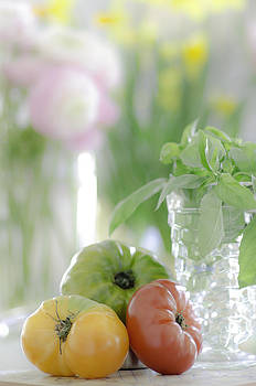 Heirloom Tomatoes by Mary Carver