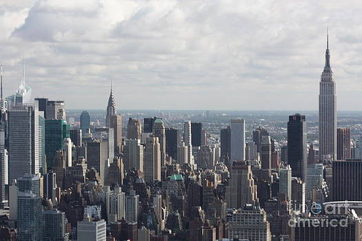 Helicopter shot New York City Skyline by Rogerio Mariani