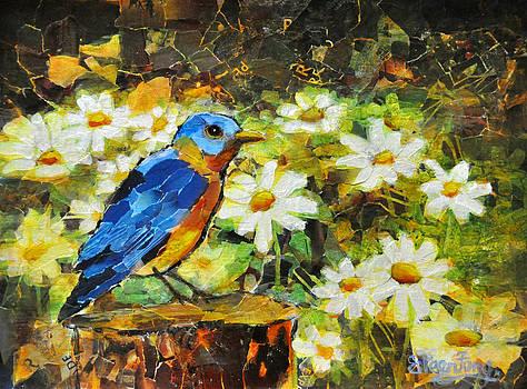 Hello Blue Bird by Eileen  Fong