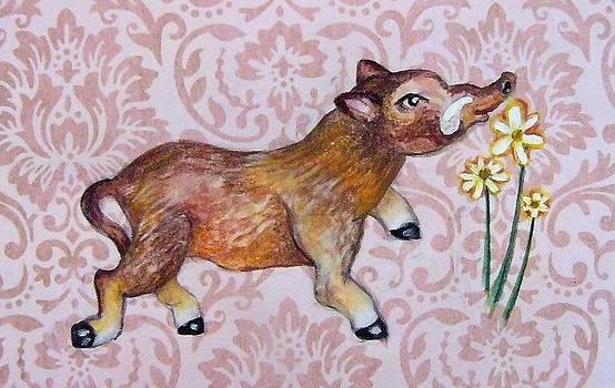 Hello Little Warthog by Nancy Mitchell