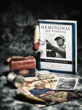 Hemingway Book by Dennis James