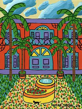 Hemingway House - Key West by Mike Segal