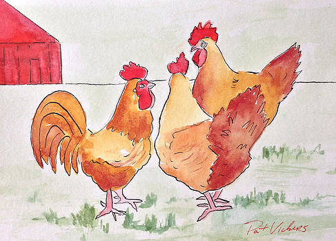 Hen Party by Pat Vickers
