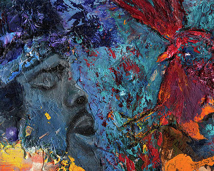 Hendrix Crash Landing by Trish Bilich