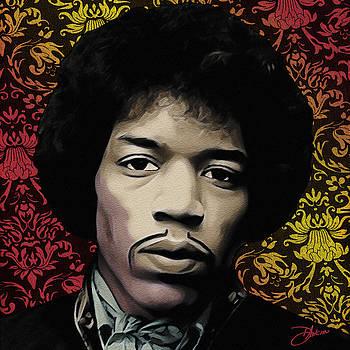 Hendrix Daze by Dancin Artworks