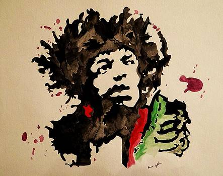 Hendrix by Renee Oglesbee