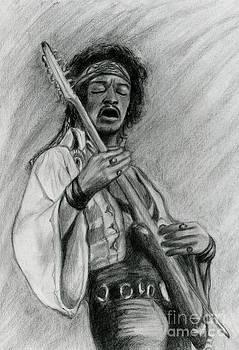 Hendrix by Roz Abellera Art