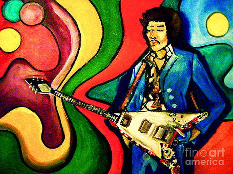 Hendrix by Sidney Holmes