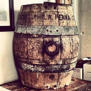 Aged Barrel by Rebecca Kowalczik