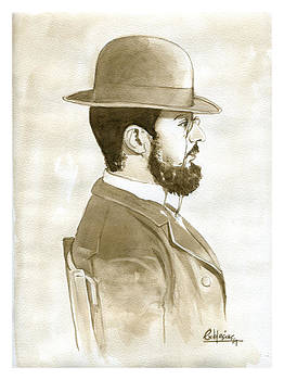 Henri de Toulouse Lautrec by David Iglesias