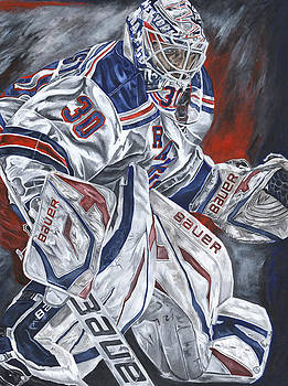 Henrik Lundqvist by David Courson