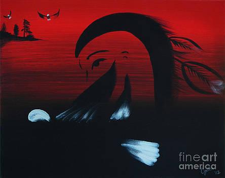 Her Eagle Spirit by A Cyaltsa Finkbonner