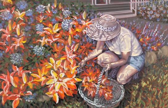 Her Garden by Gary M Long