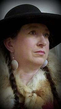 Cindy New - Her hat and fur