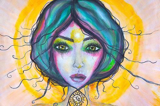 Her Illumination by Marley Art