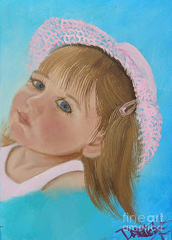 Her Pink Hat by Darlene Green